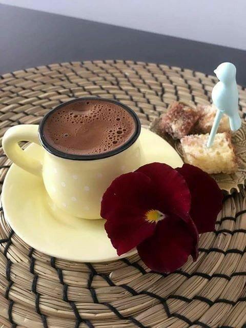одна форм открытка кофе и шоколад с добрым утром врывается ней
