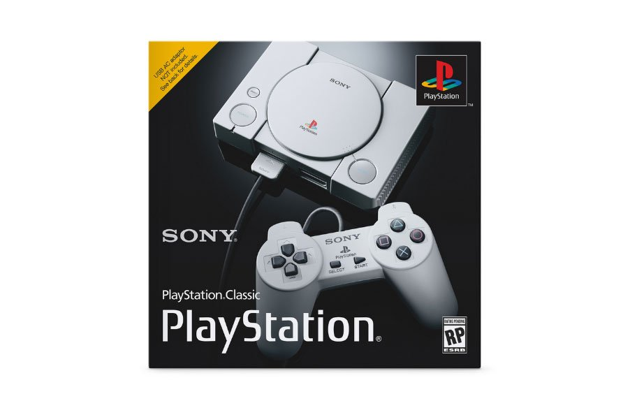 Sony just announced the $100 PlayStation Classic console. https://t.co/Jr2xFN0FO6 https://t.co/FjUvhzvTBr