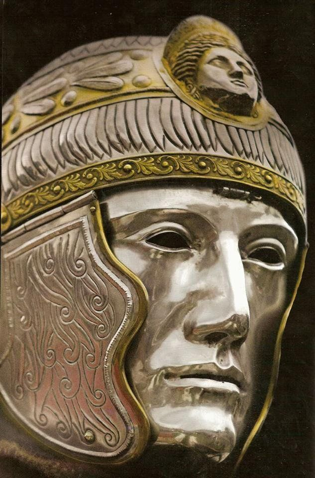 #History: on the #helmet types of the late #Roman #cavalry ► https://t.co/AE6mIK4lSL by Periklis Deligiannis