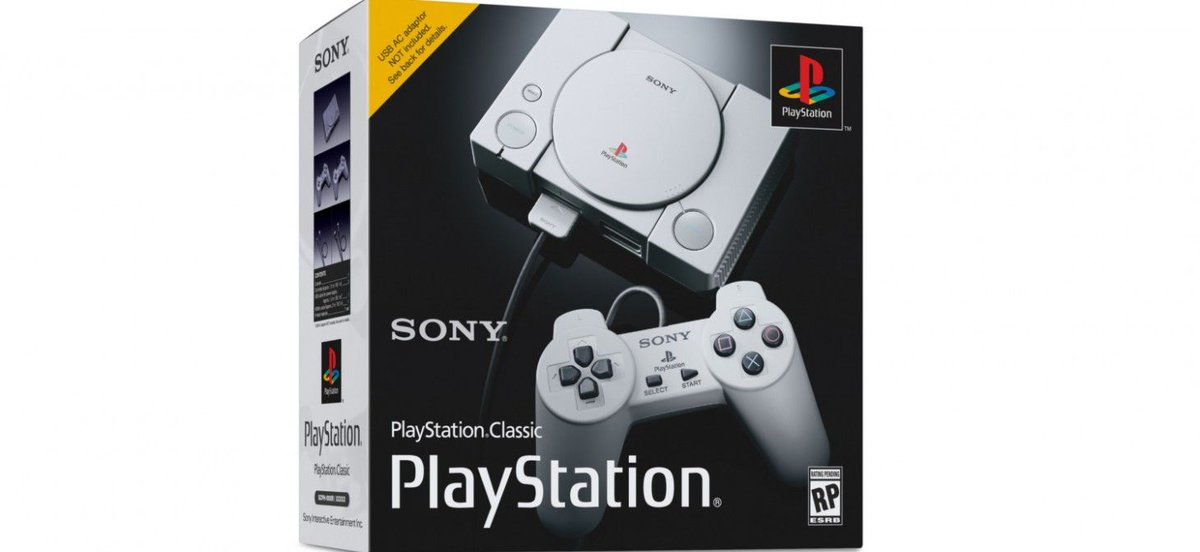 Sony Reveals PlayStation Classic Mini-Console, Comes With 20 PlayStation Games - https://t.co/Wtkrwv2WZE