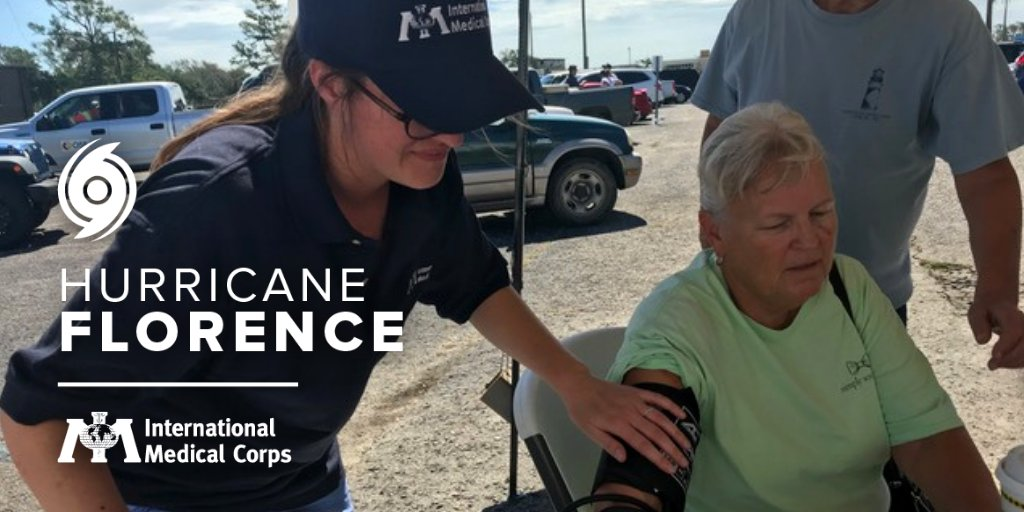 The impacts from #HurricaneFlorence are worsening as it brings catastrophic flooding. We are deploying a shelter medical team to provide health services.  Help us provide medical care & supplies to Hurricane Florence survivors: https://t.co/1P2nKQnvPX