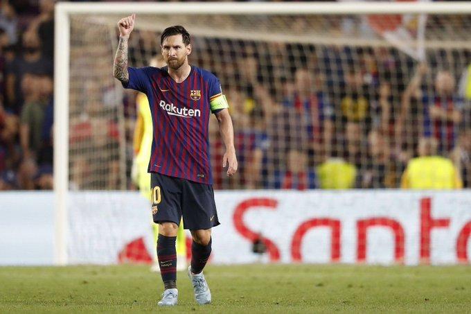 Лига чемпионов началась с феерического хет-трика Месси. «Барселона» – ПСВ: голы и лучшие моменты. Для тех, кто пропустил. 📷 globallookpress Фото