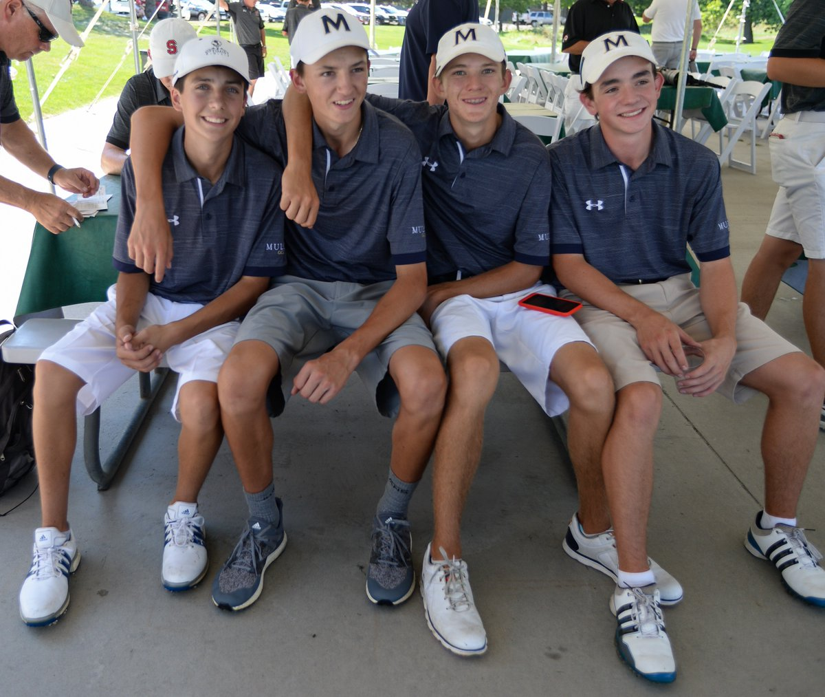 Yo: Balanced Mullen finishes second in Class 4A Region 4, will https://t.co/8ndxT1THFN send its whole team to state tourney Oct. 1-2 in Colorado Springs. Dino, Hicks, Johnson and Reister advance. #copreps #Mullenathletics @Presto89 @MullenMustang