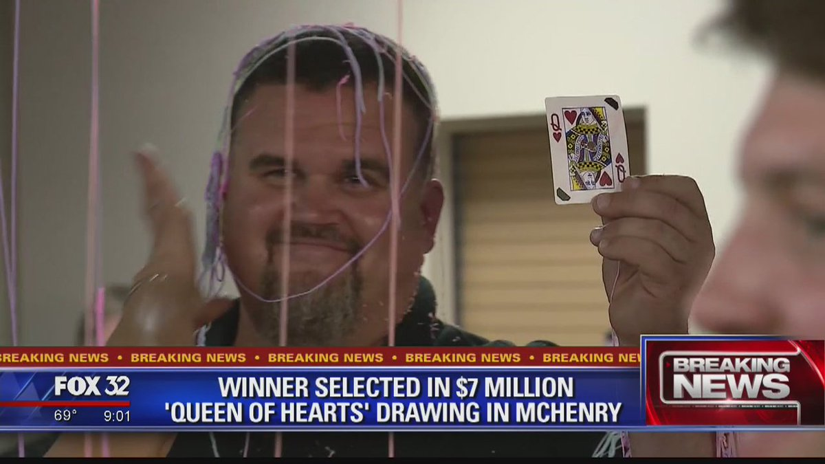 Winner selected in $7 million 'Queen of Hearts' drawing in McHenry https://t.co/acwqYJ4tgE @Dakarai_Turner reports