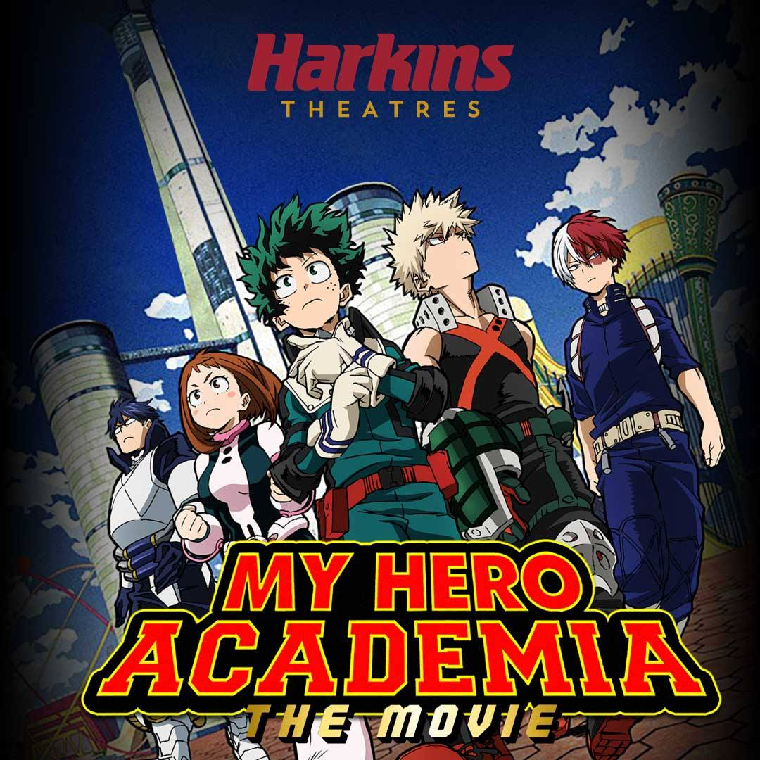 Harkins Theatres On Twitter Superhero Season Is Far From Over Deku And All Might Are Coming To The Big Screen For Special Showings Of My Hero Academia Two Heroes Join Us For