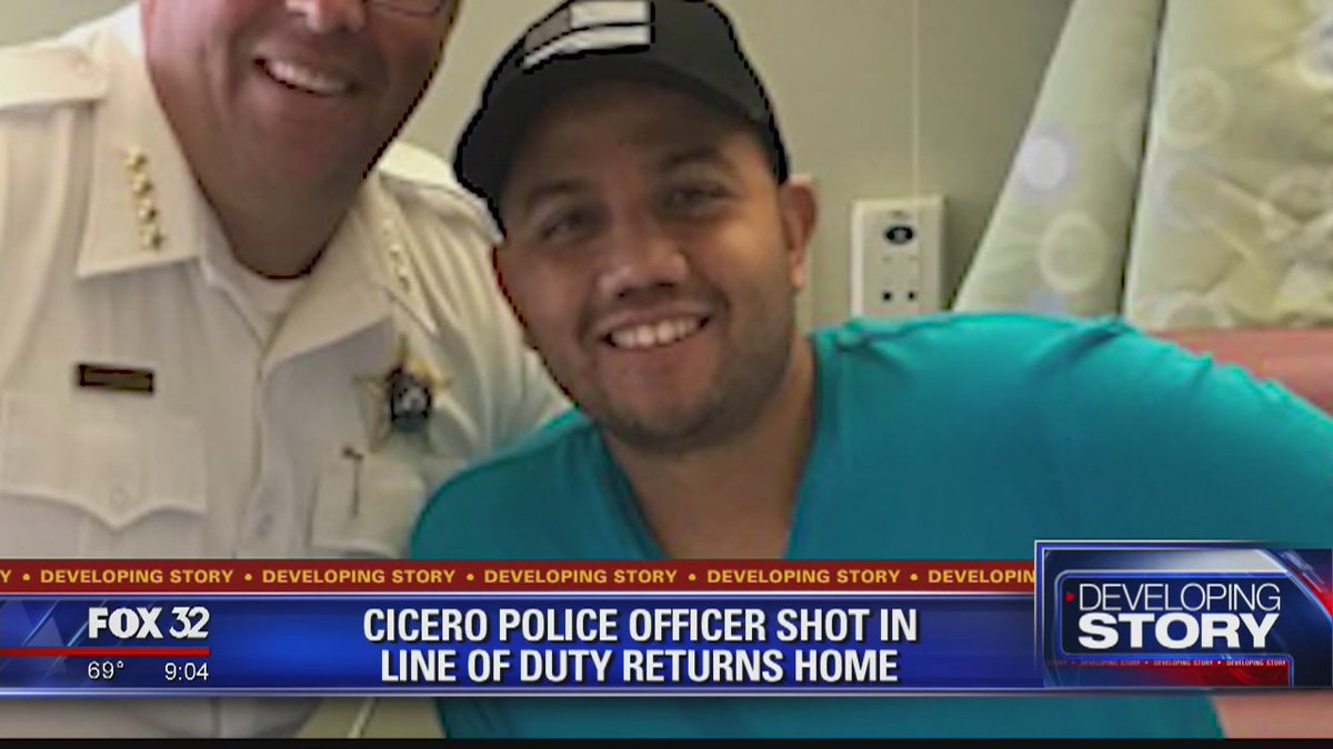 Cicero officer released from hospital after being shot on Southwest Side https://t.co/5zXeM2s29m @ElizabethFox32 reports
