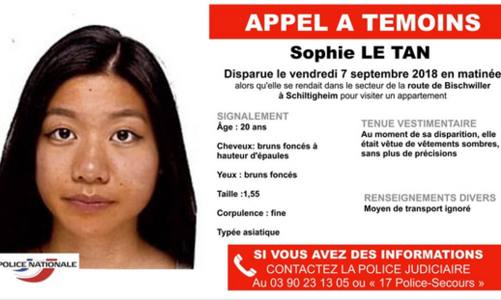 Etudiante disparue à Strasbourg: le suspect mis en examen pour assassinat et enlèvement https://t.co/KwTqeiMuo1