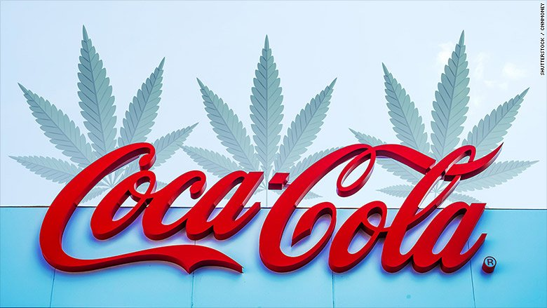 Coke could make a move into cannabis-infused drinks https://t.co/GwrVCFnLVb