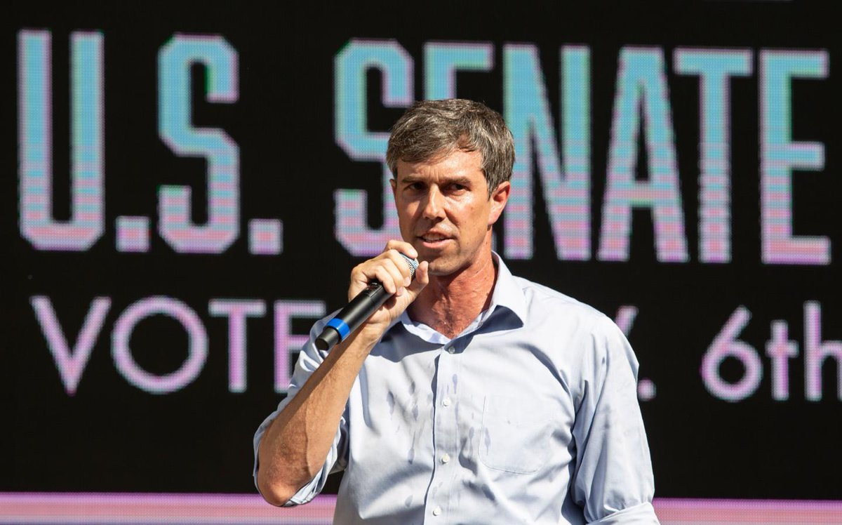 Beto O'Rourke campaign signs stolen ahead of race for Ted Cruz's Senate seat https://t.co/oUjImjZT1V