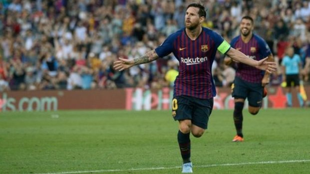 Has Lionel Messi put Argentina's World Cup disappointment behind him? The Barcelona forward broke yet more records in the Champions League last night. Read👉 Foto