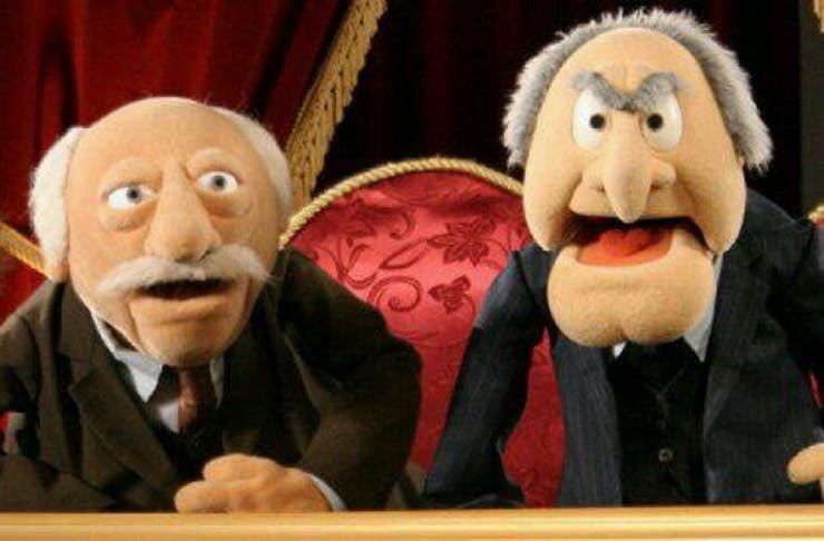 Sorry, Bert and Ernie, but these two are the OG gay puppets. https://t.co/CtX7RXJXPg