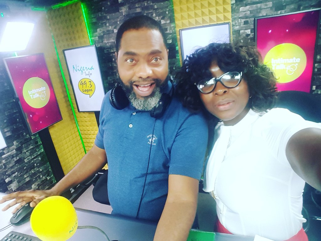 With my Co-host; @abanjo1 on Breakfast News Digest on 99.3 @NigeriaInfo fm.  Join us. Today we discuss lessons learnt from Nigeria&#39;s former Finance Minister @KemiAdeosun&#39;s NYSC certificate drama . Follow us, watch us live on facebook and drop your comments on fb and Twitter. <br>http://pic.twitter.com/6seRN8yxlO