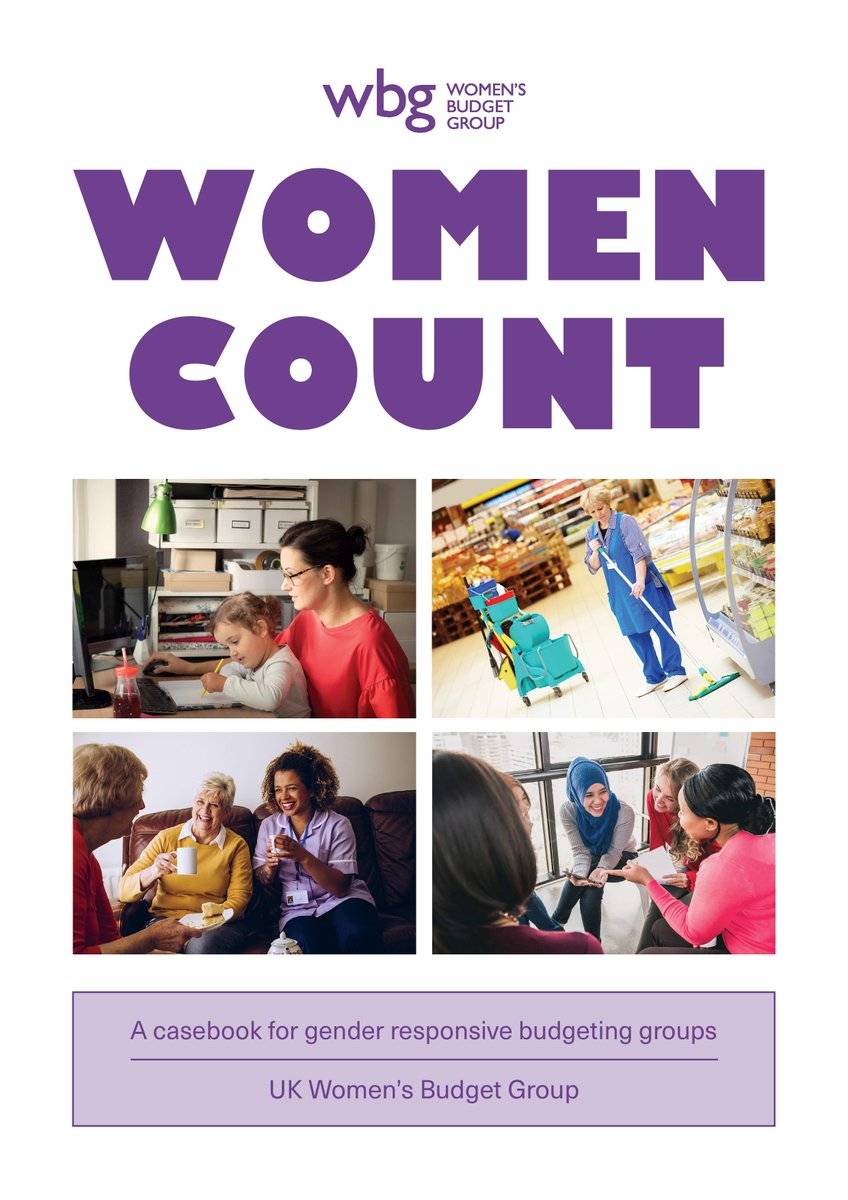 It's here! Our Gender Responsive Budgeting casebook launches today - in print and online. Visit the #WomenCount website to find out more: womencount.wbg.org.uk #GRB