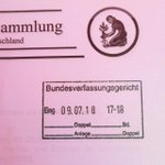 #Bundesverfassungsgericht Twitter Photo