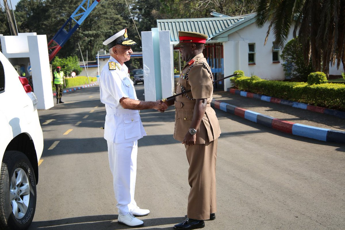 Kenya Defence Forces On Twitter The Flag Officer Commanding In