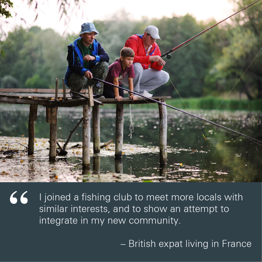 Meet expats in france