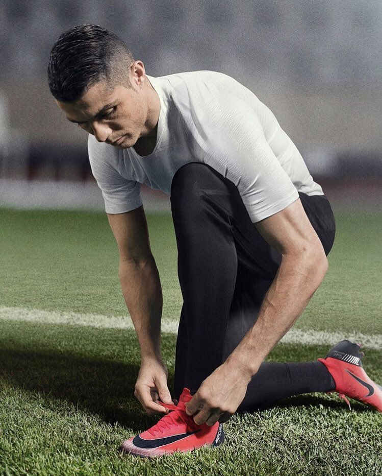 """Excited to continue my legacy in the new @nikefootball CH. 7 """"Built on dreams"""" Mercurial. 💪🏽 #nikefootball #bornmercurial #mercurial"""