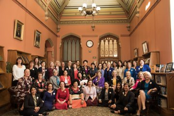All-women group of New Zealand MPs in 2018