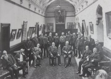 All-men group of New Zealand MPs, 1905