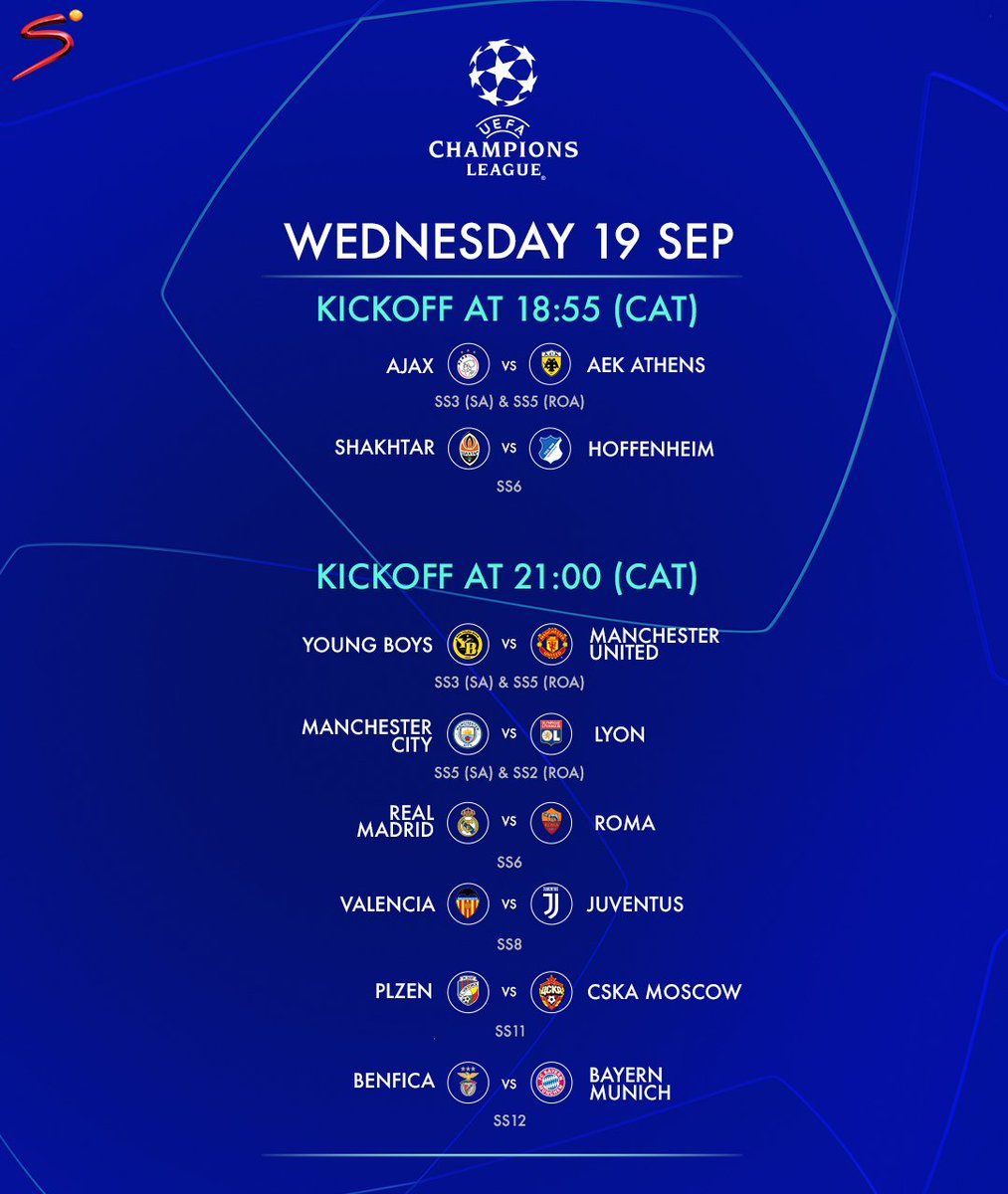 Supersport On Twitter The Uefa Champions League