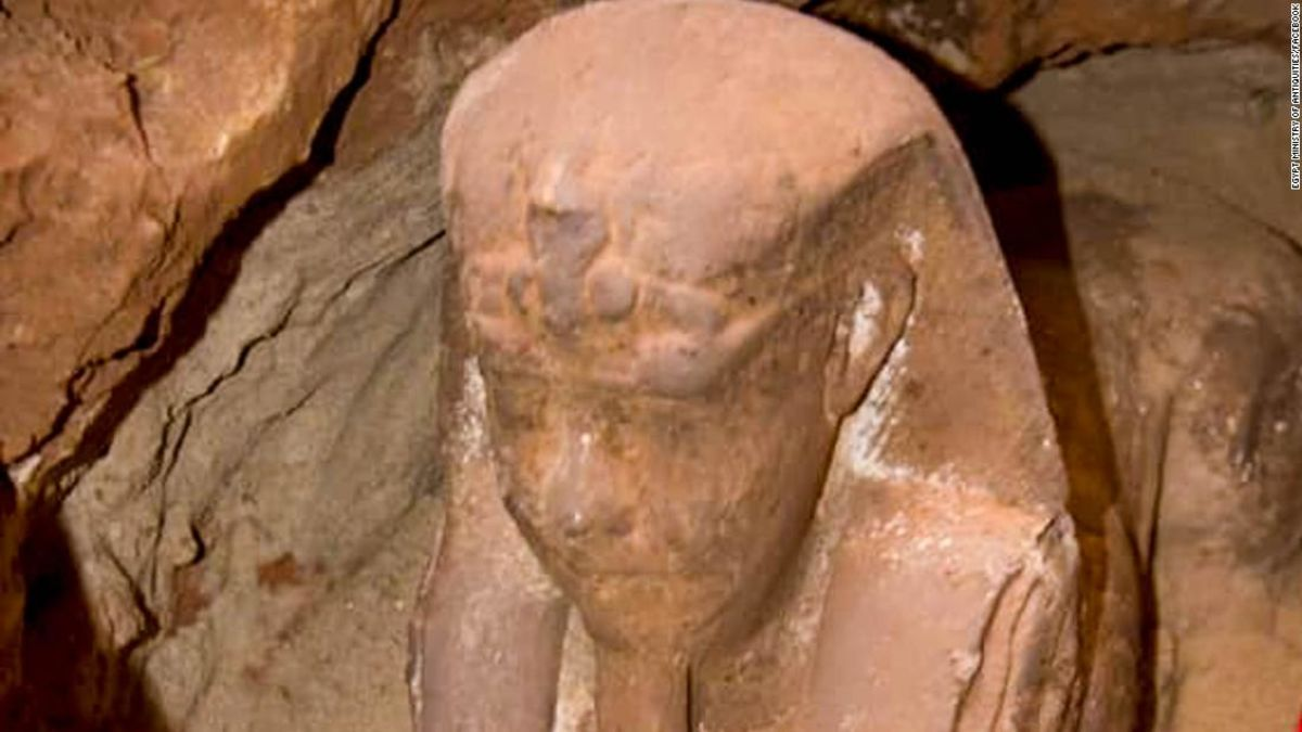 A Sphinx believed be more than 2,000-years-old has been uncovered in Egypt https://t.co/zv8BZMuAIp via @CNNTravel