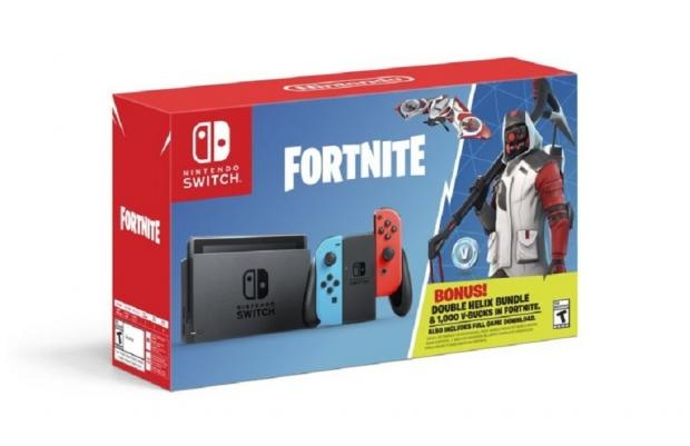 A @Fortnite themed #NintendoSwitch console bundle has been announced by @NintendoAmerica https://t.co/tbDXe0HzM8