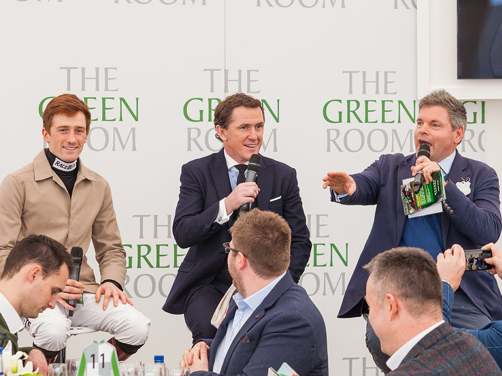 Three reasons to join us at #TheFestival in 2019 1️⃣ #TheGreenRoom is back! 2️⃣ .@AP_McCoy returns to give his expert insight 3️⃣ You can rub shoulders with a whole host of celebrities Discover more here ➡️ ow.ly/DJng30lRHVd #CheltenhamFestival #EventProfs