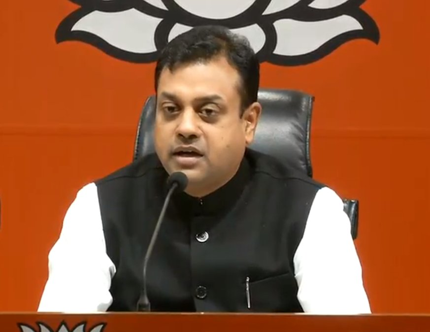 Congress and corruption has become synonymous. Unaccounted cash, Hawala transactions and corrupt deals, these are the pillars on which Congress party sits : Dr @sambitswaraj