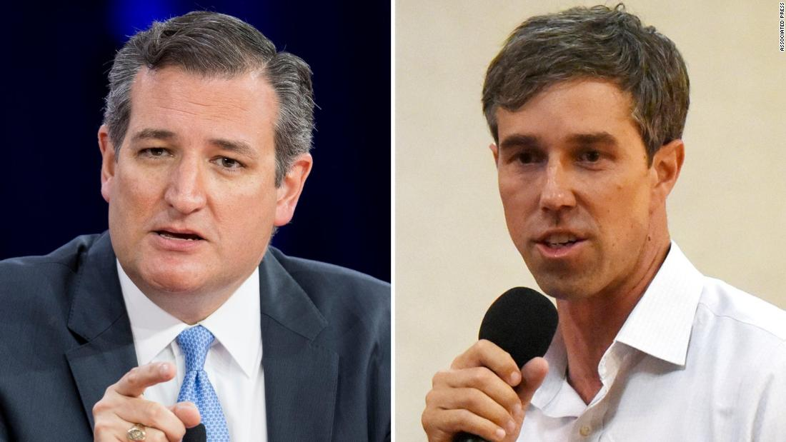 Republican Sen. Ted Cruz, who is locked in a tight fight for his seat, says if his opponent, Democratic Rep. Beto O'Rourke wins 'BBQ will be illegal' in Texas https://t.co/fn2BP4PcGx