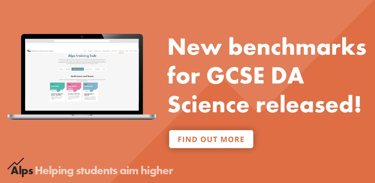 Alps education alpsva twitter new benchmarks for gcse double award science have been released using our client data you can now analyse this new course in connect interactive publicscrutiny Images