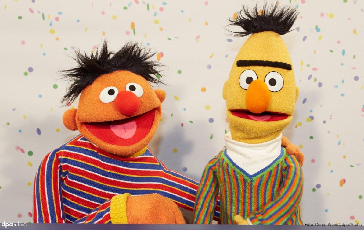 Ernie und Bert doch nicht schwul? 'Sesamstraße'-Autor spricht von Missverständnis https://t.co/QRH8NeMXay @dpa-Newsblog via @RNZonline #Sesamstrasse