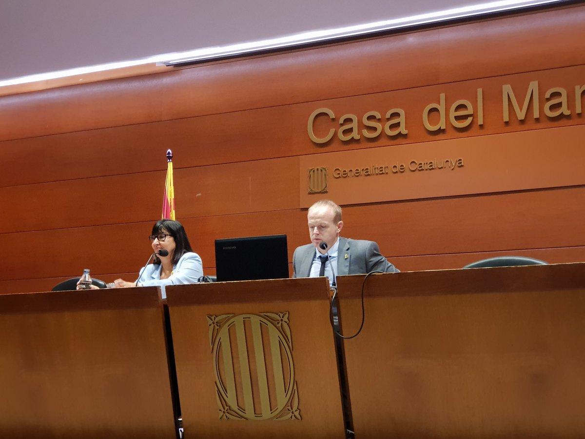 """test Twitter Media - ▶️Inici jornada amb Albert Castellanos,secretari gral  vicepresidència economia i Hisenda """"l'activitat de comprar no es neutral"""" i afegir un nou criteri""""valor de responsabilitat"""".  @abd_ong. https://t.co/UcHWCzjls0"""