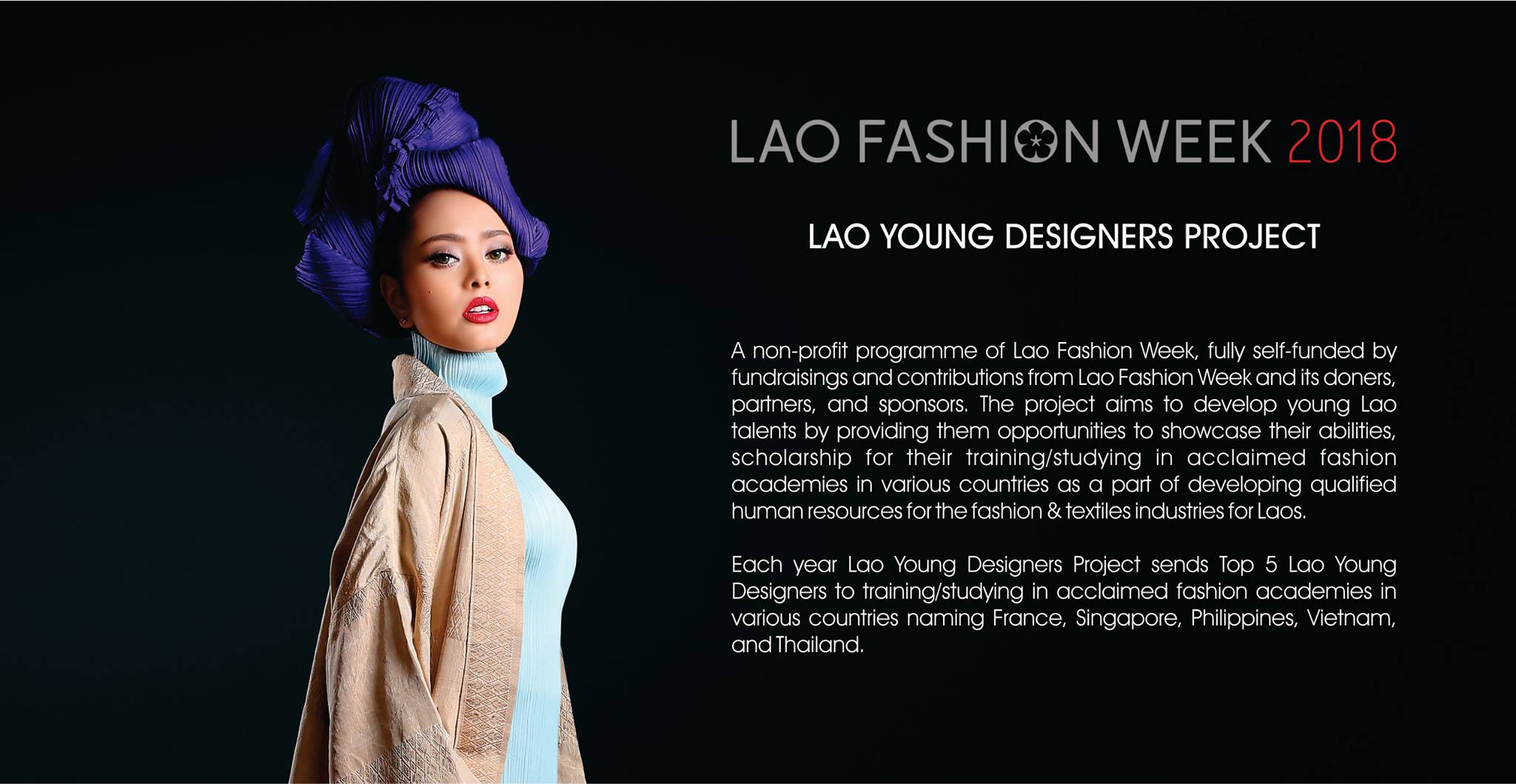 Vientiane International School On Twitter A Student From Vis Was Selected As One Of Five Young Designers During Lao Fashion Week Last Friday She Showed Off Her Designs Was Third Runner Up