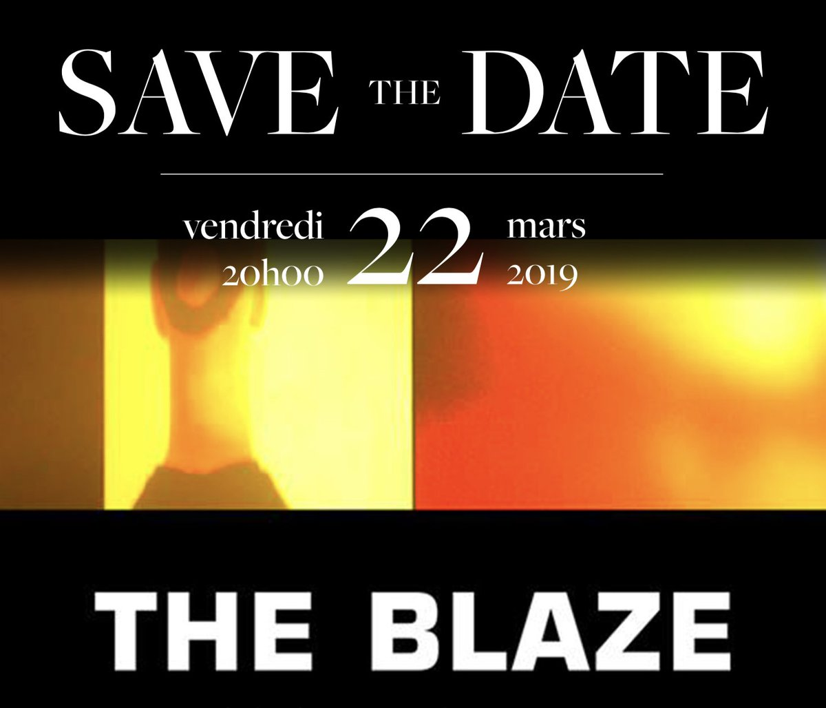 [ OUVERTURE DES VENTES ] @TheBlaze_Prod - @sallepleyel  NOUVELLE DATE >> Vendredi 22 mars 2019. Ne trainez pas !  Billetterie ici >> https://t.co/TGOpz2iMkJ https://t.co/7iPolGmcFt