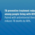 DYK: #TB accounted for nearly half of deaths among HIV+ people in 2016. But there's hope - CDC is on the forefront of efforts to scale up access to a proven treatment that can prevent people living with #HIV from dying of TB. #CDCFightsTB https://t.co/PERfZkE7iD