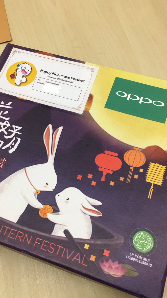 Thank you @OPPOIndonesia for the package! 💕