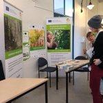 Image for the Tweet beginning: Biotalouden projekteja esillä #Frush2018