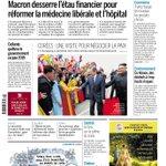 Image for the Tweet beginning: Macron veut se réconcilier avec