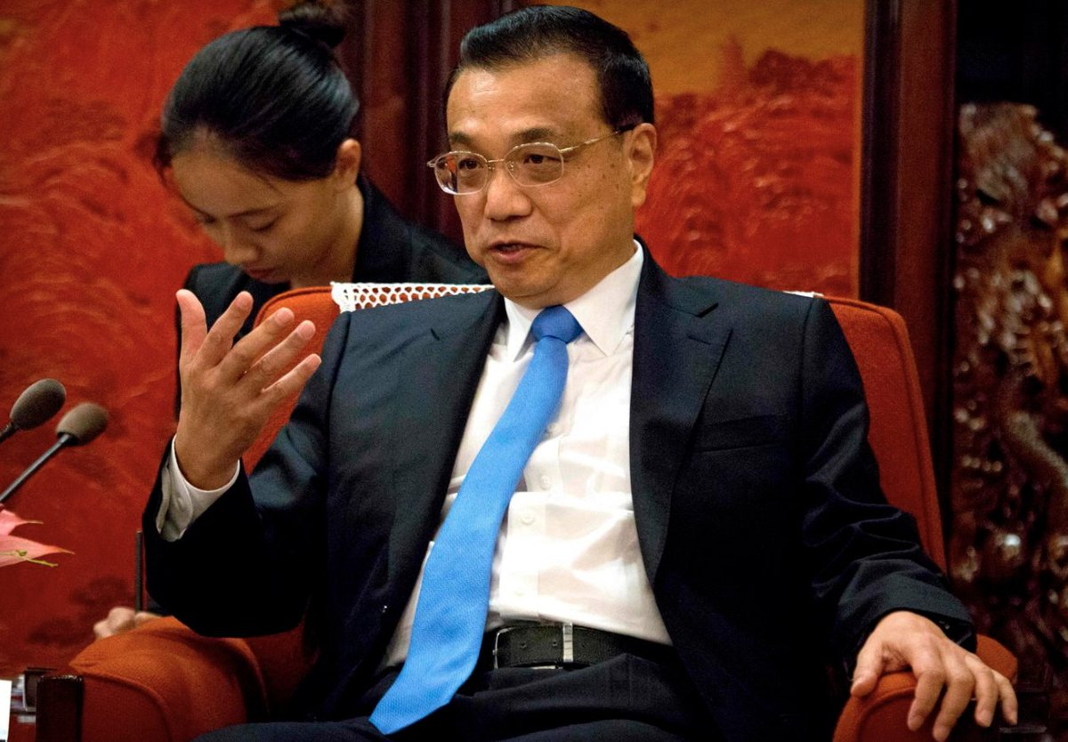 """Chinese premier Li stands defiant a day after Trump tariffs: """"China's development over the past decades has always been achieved by overcoming all sorts of different obstacles and challenge. Each time, we managed to pull through.'Latest from @DPAQreport https://t.co/ttGLgxAj9l"""