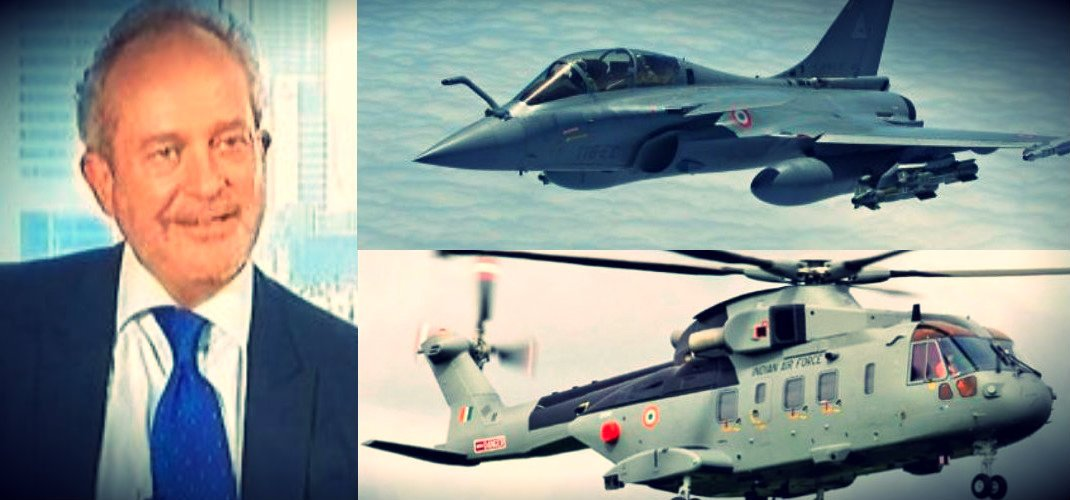 Modi's Rafale Vs. Congress's AgustaWestland? As extradition of VVIP Chopper Scam middleman looms, get ready for 'defence scam Vs defence scam' to hit 2019 campaign. @ShivAroor breaks the story down on #5iveLIVE @ 5.30pm.