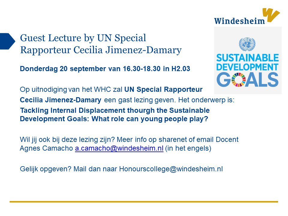 Windesheim Honours College On Twitter Tomorrow Is Our