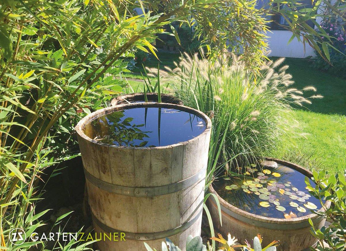 Gartenzauner On Twitter Wasser Im Garten So Einfach