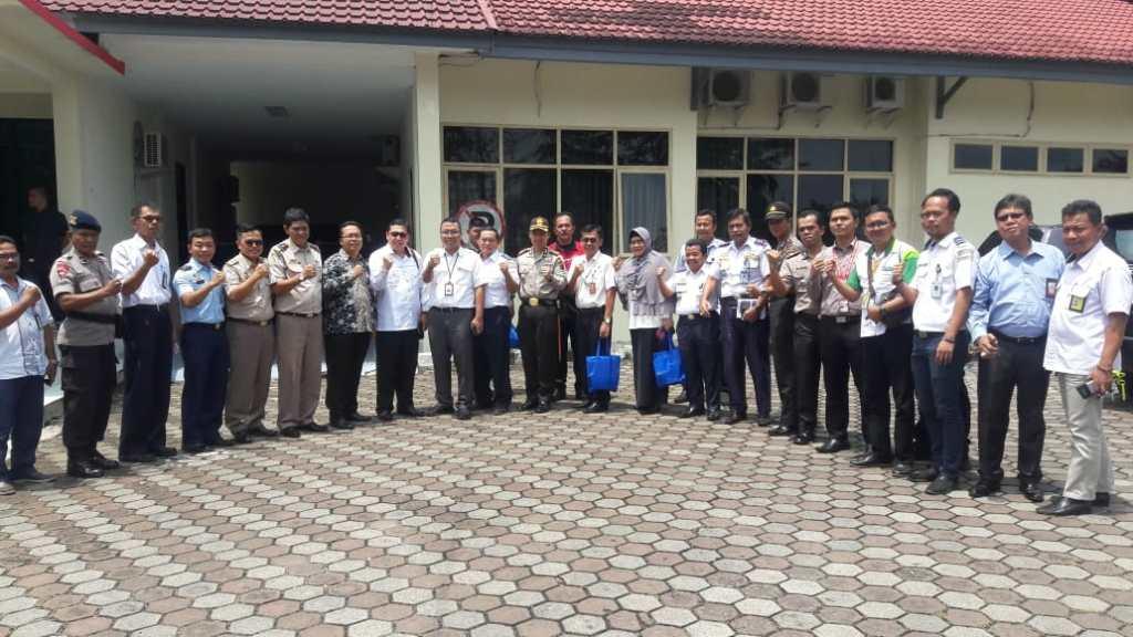 Antisipasi Terjadinya Pelanggaran Pemilu tahun 2019 di Bandara Internasional Minangkabau, Kapolres Padang Pariaman Hadiri Rapat Komite KeamananBandara
