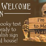 Get yourself #halloween ready with this awesome halloween welcome sign from @DesignAndMakeIt https://t.co/JSJgRl7Qhq
