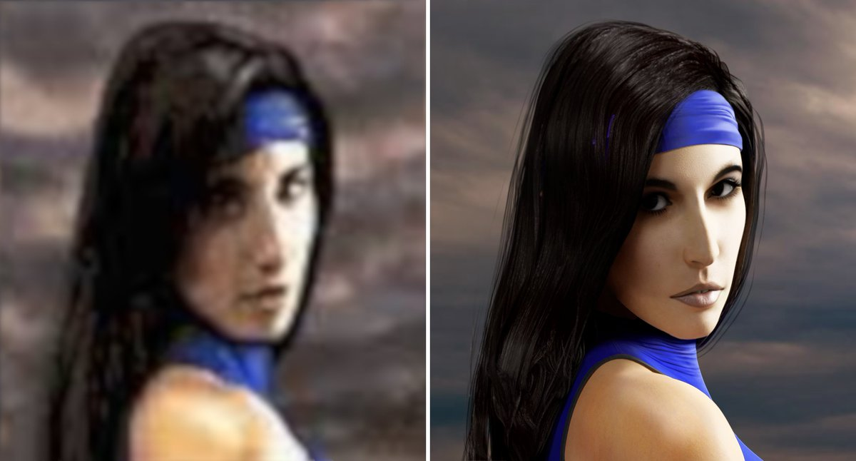Do you remeber the ending of Kitana in MKII ? I have tried to remake it in HD :D #MortalKombat #kitana #Blender3d <br>http://pic.twitter.com/El4BIzdV0A