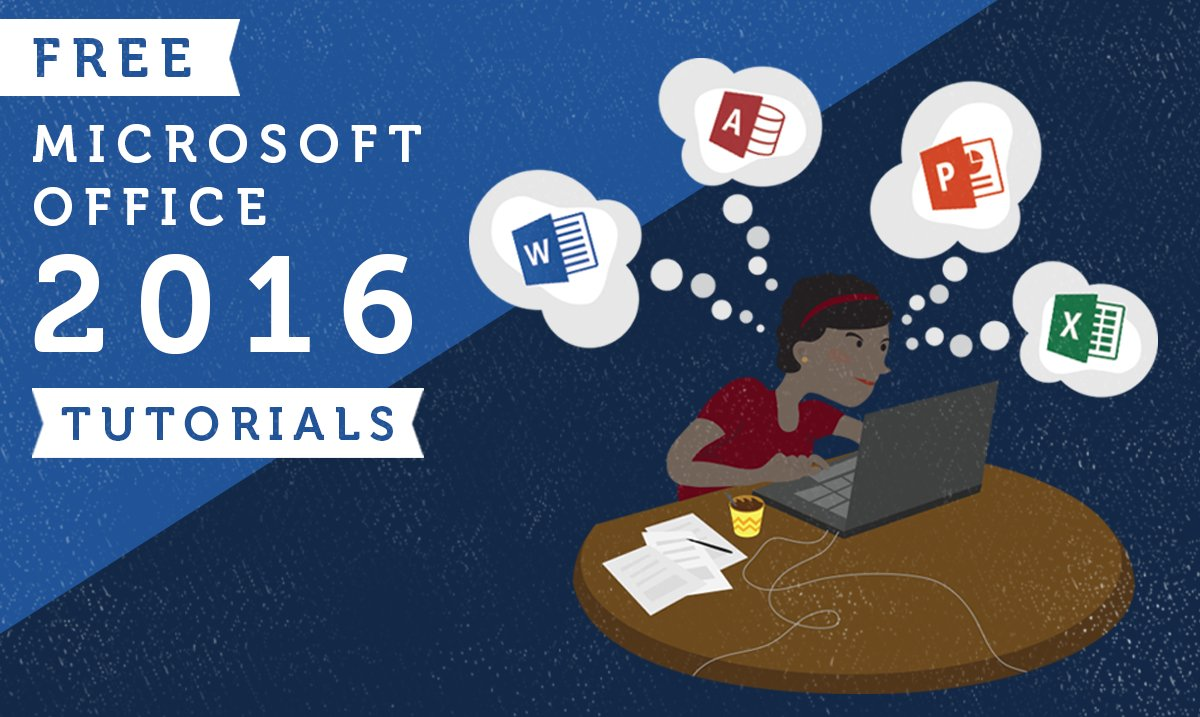 microsoft e-learning-applications office 2016