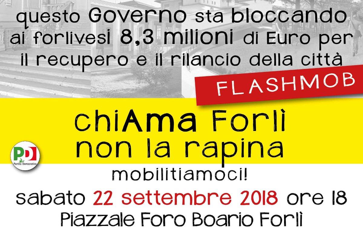 Sabato 22 settembre alle 18 al Foro Boario a #Forlì una manifestazione per spiegare gli effetti sulla città del blocco dei fondi previsti dal bando per città e periferie. Una questione che riguarda tutti e non solo una parte.#milleproroghe #periferie #romagna  - Ukustom