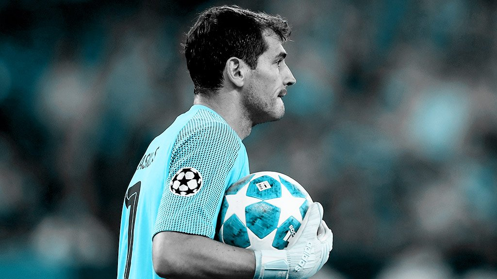 Iker Casillas.  The first player in history to play in 20 different season of the Champions League.  Legend.