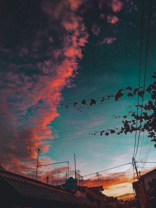 Bahan Pemandangan Buat Edit Foto Cocok Nih Buat Yang Suka Foto Langit Senja Dan Fajar Thread Wajib