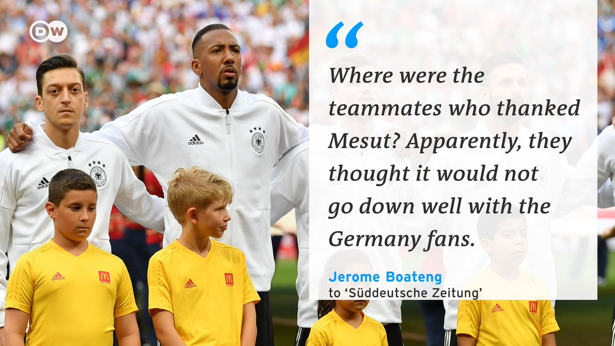 Jerome Boateng isn't happy with his Germany teammates. Should they have been more grateful to Mesut Özil? 🤔